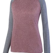 2817 Ladies Kniergy Two Color Long Sleeve Raglan Tee